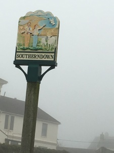 Southerndown in the fog