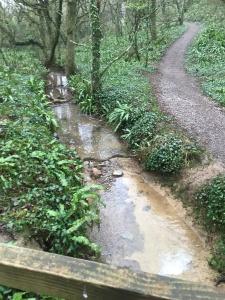 Over a very pretty stream
