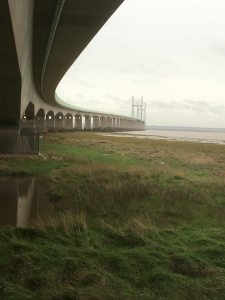 Under the Severn crossing