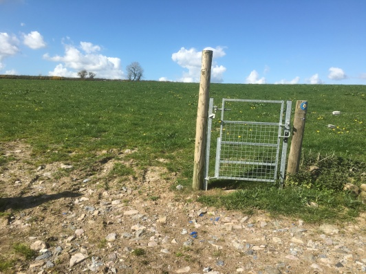 One of the many pointless gates not attached to anything