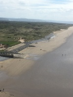 At the top - Pendine beach