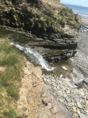 Using the waterfall