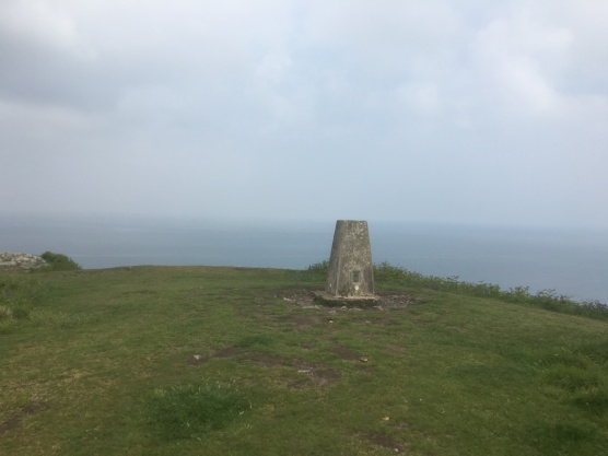 The monument at Dinas Head