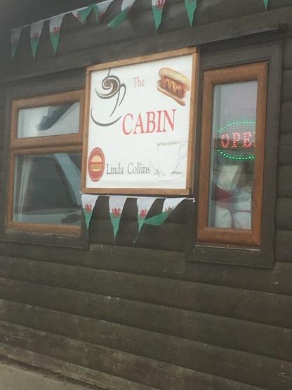 Ice-cream at the cabin