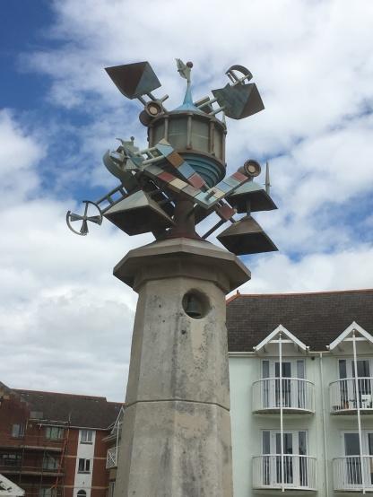 A weird sculpture