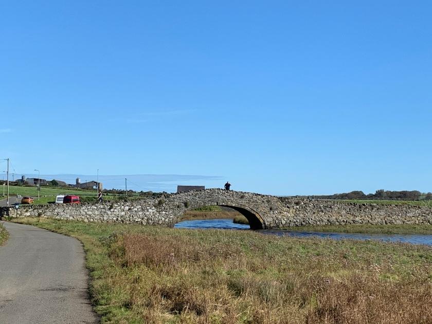 Bridge over the river Ffraw